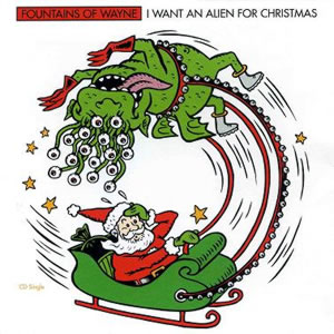 CD Cover: I Want An Alien For Christmas